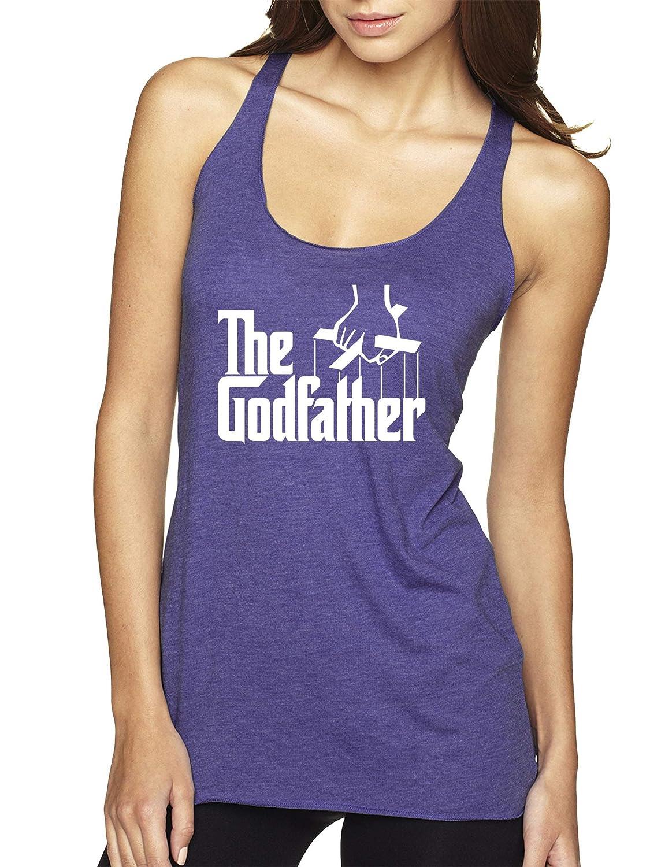 Purple Trendy USA 908  Women's TankTop The Godfather Gangster Movie Italian Mob