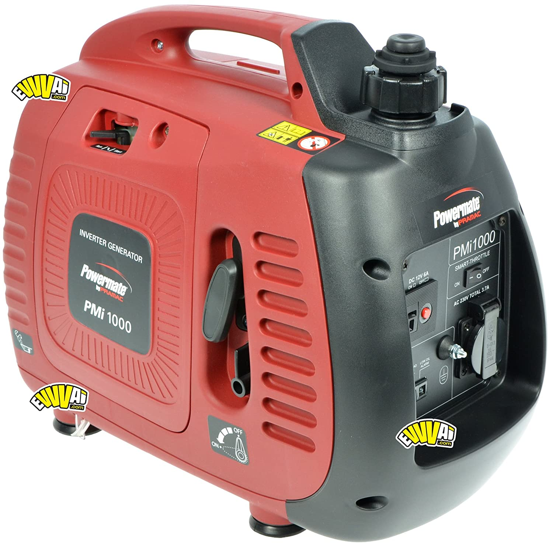 PMi 1000 Inverter Stromerzeuger / Generator, 230V, 800 W, 4-Takt OHV Motor (Benzin)