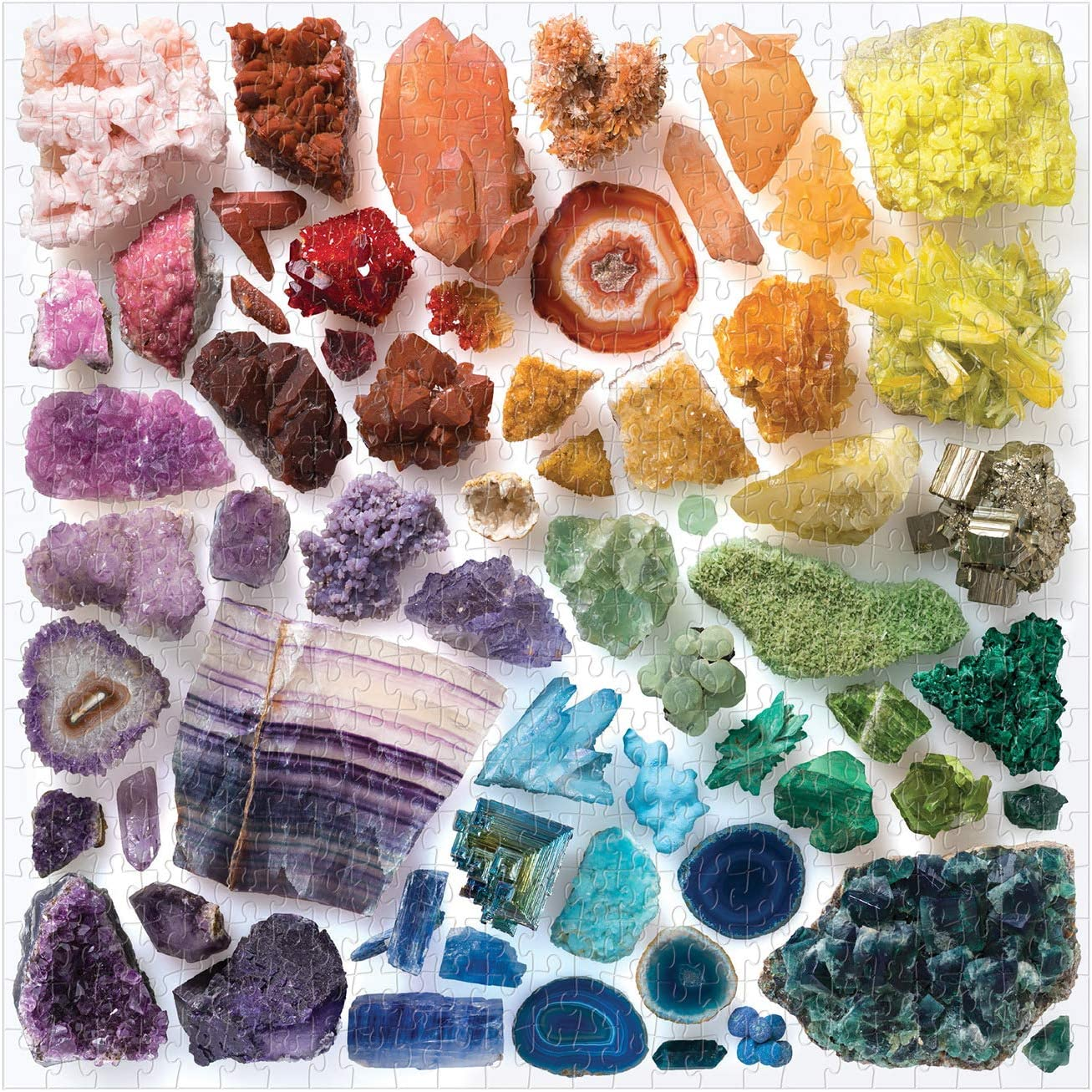 Photo of the puzzle Rainbow Crystals