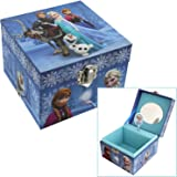 Children's Disney Frozen Family Themed Musical Jewellery Box Gift by ukgiftstoreonline