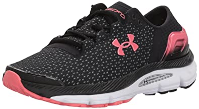 newest f2dcf 8d60d Under Armour Women s Speedform Intake 2 Running Shoe, Black (001) Steel,