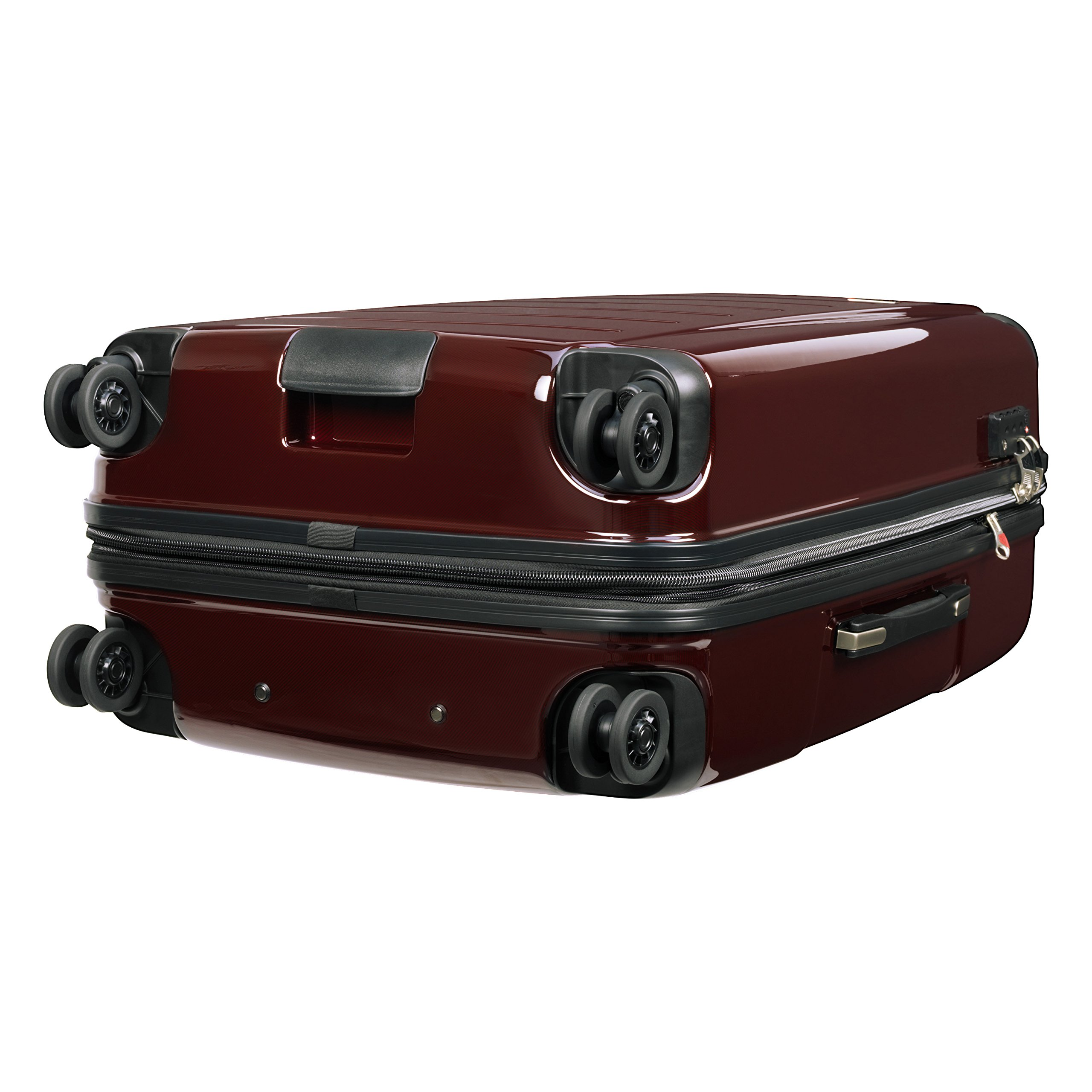 Ricardo Beverly Hills Luggage Rodeo Drive 29-Inch 4-Wheel Expandable Upright, Black Cherry, One Size by Ricardo Beverly Hills (Image #5)
