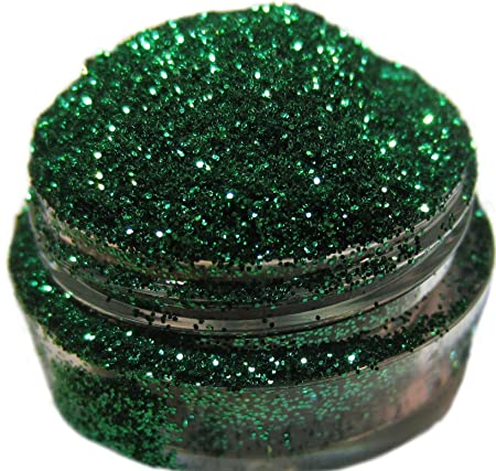 Lumikki Cosmetics Glitter Makeup Sparkly Forest Green Middle