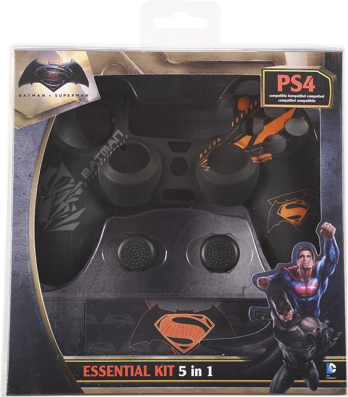 Indeca - Pack De 5 Componentes Batman vs. Superman (PS4): Amazon ...