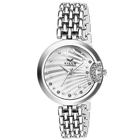 Vills Laurrens VL-7010 Diva White Collection Watch For Women & Girls