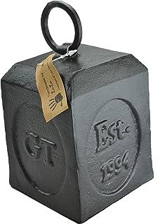 Lulu Decor Cast Iron Door Stop Door Stopper Doorstops (Square 3.60 lbs  sc 1 st  Amazon.com & Amazon.com : Esschert Design Weight Door Stop : Garden u0026 Outdoor