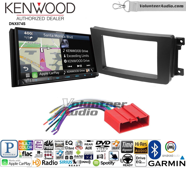 ボランティアオーディオKenwood dnx874sダブルDINラジオインストールキットwith GPSナビゲーションApple CarPlay Android自動Fits 2007 – 2015マツダCX - 9 B07BYY6Z2X
