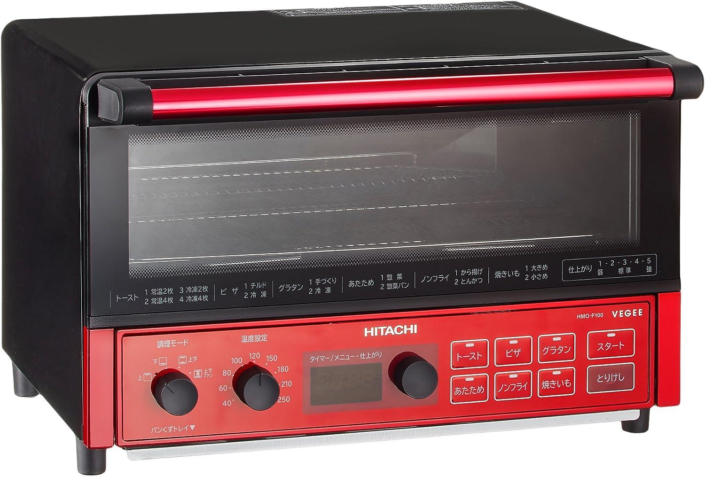 HITACHI Convection Toaster oven HMO-F100R (Metallic red)