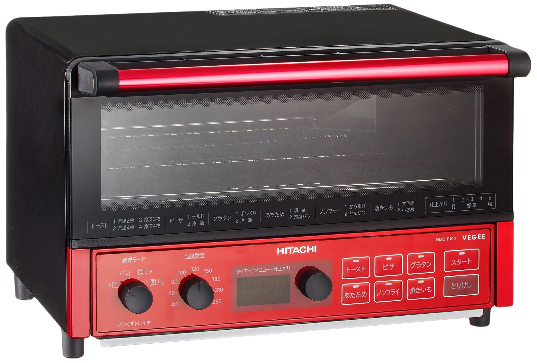日立 コンベクションオーブントースター HMO-F100 R product image
