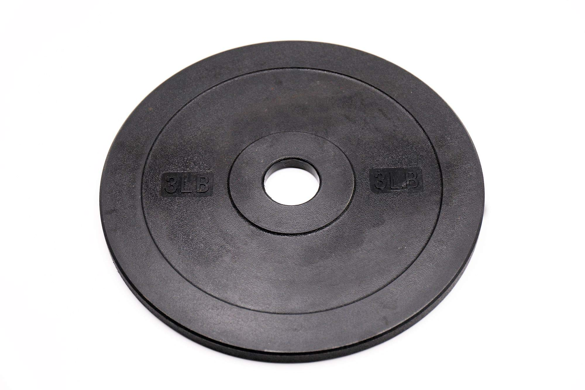 44SPORT Pair of Olympic Bumper Plates - Two All Polymer Rubber Technique Weights (3)