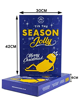 Munchkings Christmas Advent Calendar 2019 Gourmet Nuts Savoury Snacks 8 Different Flavours Of Savoury Snacks New This Year