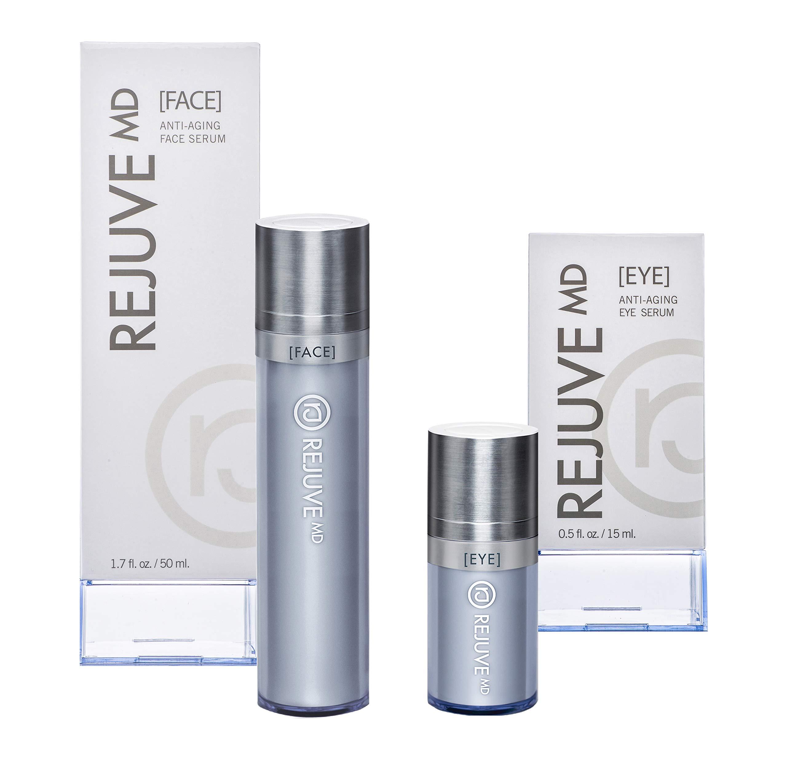 Rejuve MD Rejuvemd Anti-Aging Face & Eye Serum Set