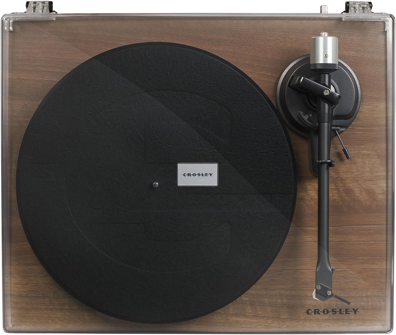 Tocadiscos Crosley C6 – Walnut: Amazon.es: Electrónica