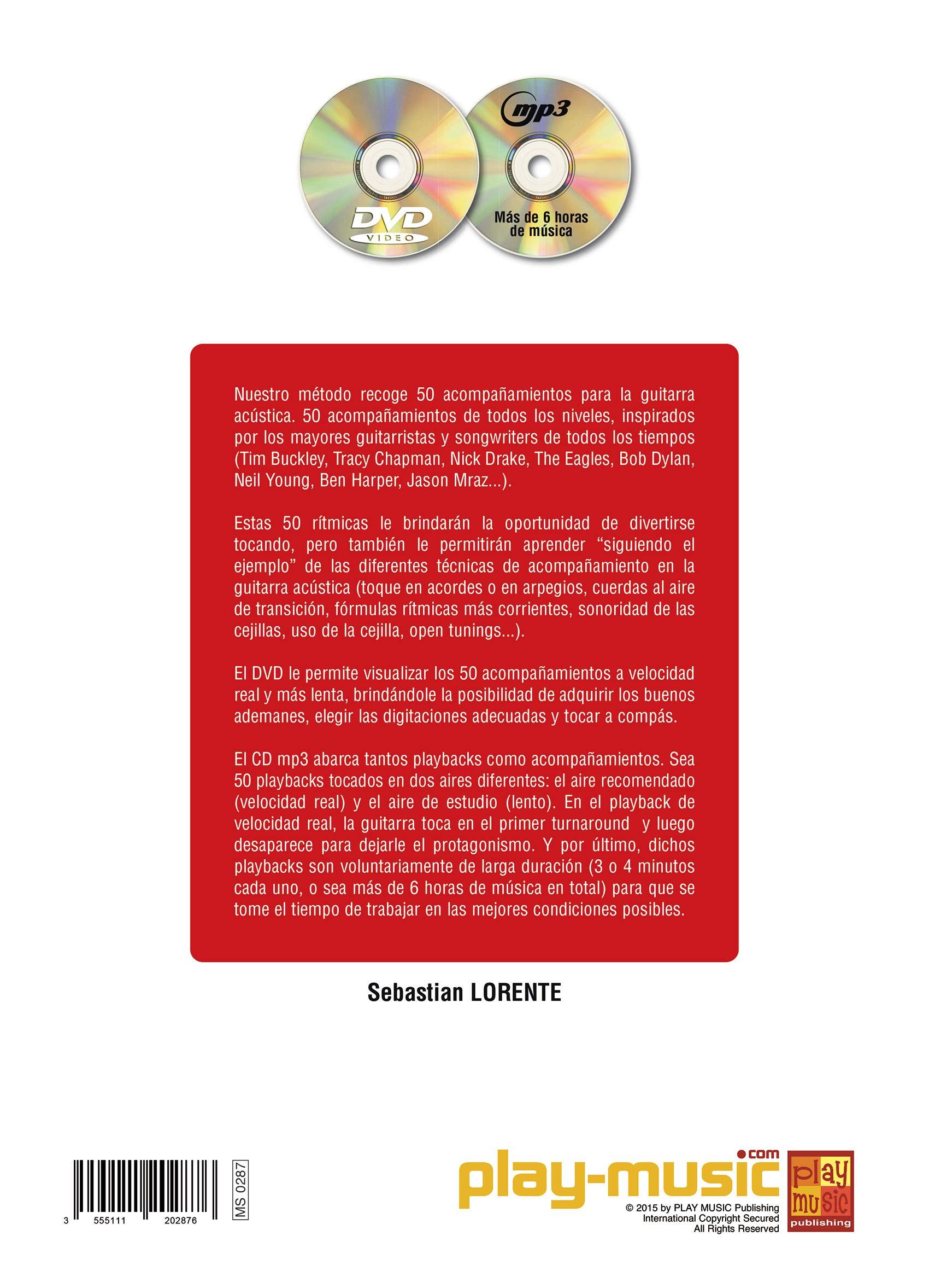 50 acompañamientos para la guitarra acústica - 1 Libro + 1 CD + 1 ...