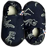 SKIPS Comfortable Baby Booties Shoes for Baby Girl & Boy - Dinosaur Fossil Print