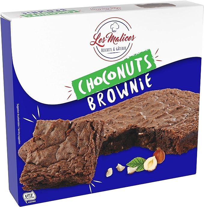 Les Malices - Choconuts Brownie 8 pastelles x 285 gr tamaño de la ...