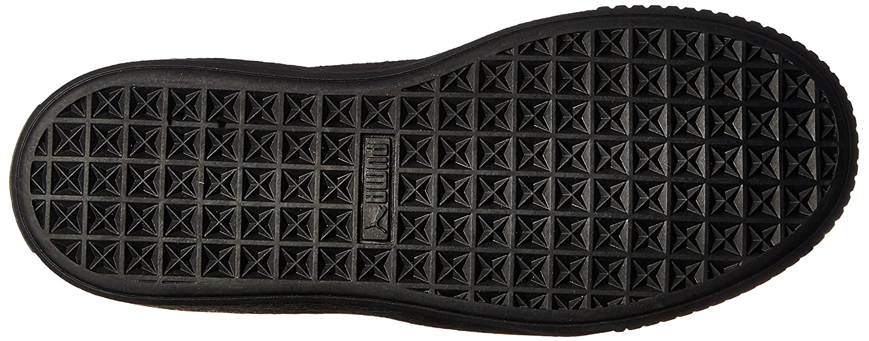 PUMA Women's Sneaker Basket Platform Patent Fashion Sneaker Women's B01LPWIH6A 10.5 M US|Puma Black-puma Black d00c87