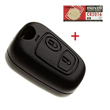 JONGO: carcasa de llave de automóvil, sin hoja metálica ni ...