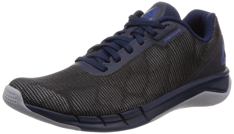 Reebok Fast Flexweave, Zapatillas de Trail Running para Hombre 48.5 EU Multicolor (Collegiate Navy/Cool Shadow/Bunker Blue 000)