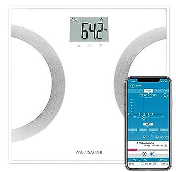 Medisana BS 445 - Báscula digital de baño con funciones de análisis y bluetooth: Amazon.es: Salud y cuidado personal