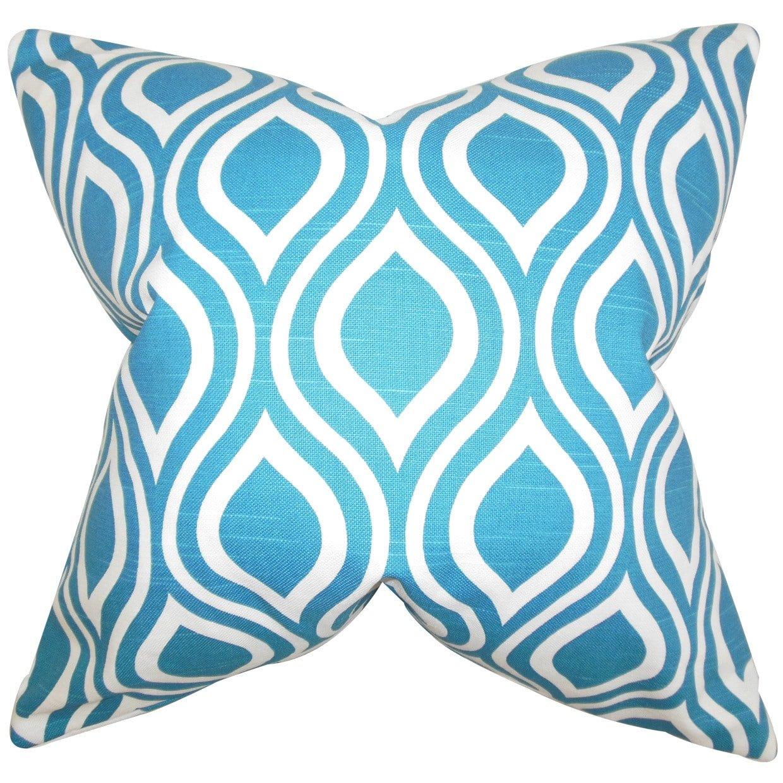 E by design O5PGHN564IV5-18 Printed Outdoor Pillow