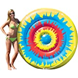 Swimline Tie Dye Island Inflatable Pool Toy