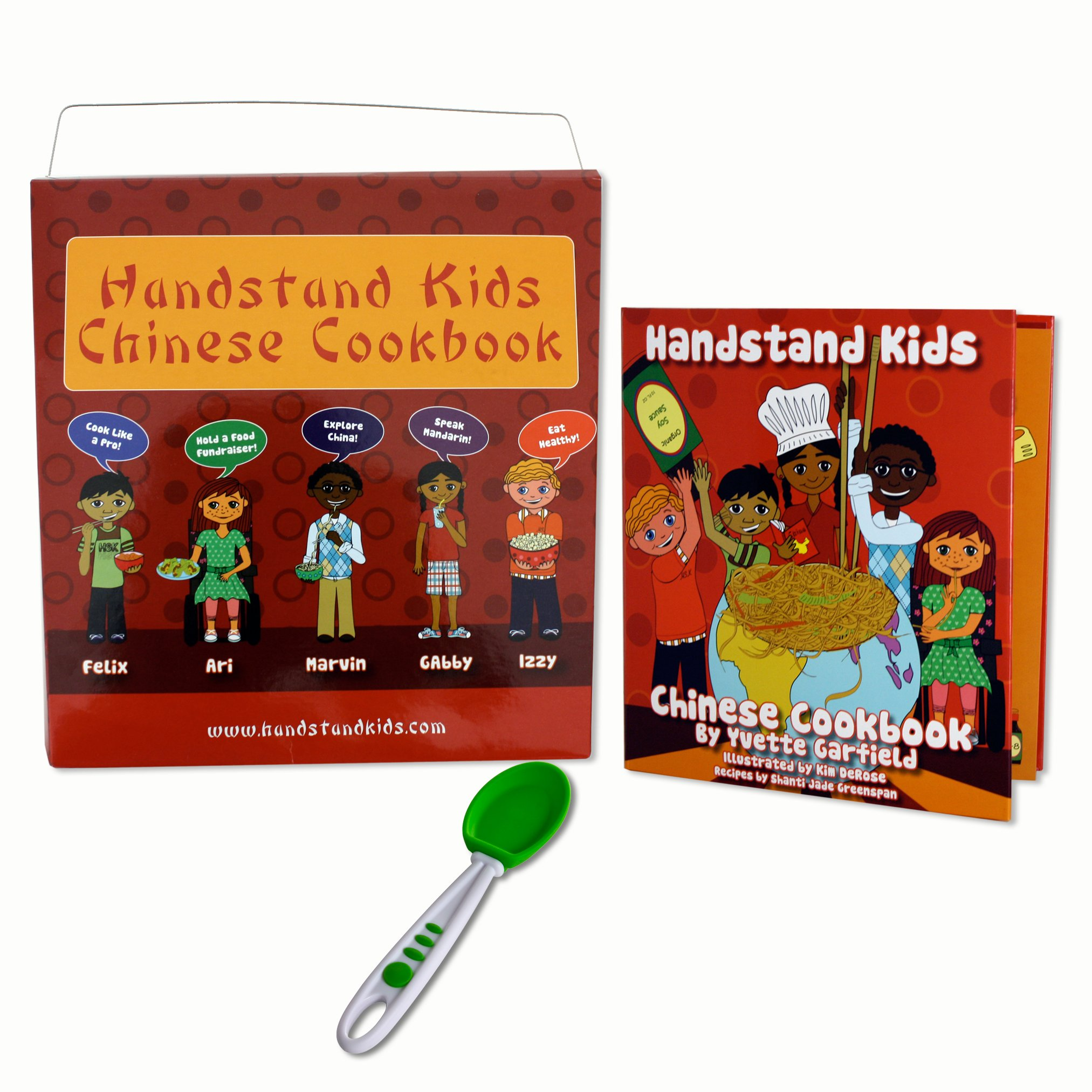 Handstand Kids in The Kitchen Chinese Cooking Kit