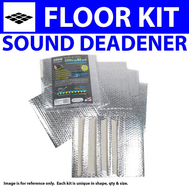 Zirgo 316513 Heat /& Sound Deadener for 36 Buick 40//60 Floor Stg3 Kit