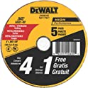 Dewalt DW8061B5 4 x 0.045' Metal & Stainless Steel Cutting Wheels