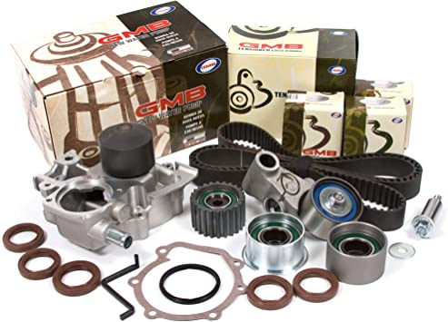 Evergreen TBK304MWPN Compatible With 06-08 2.5L Subaru Impreza Outback Non-Turbo Timing Belt Kit NPW Water Pump