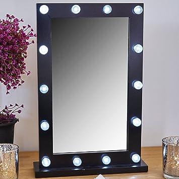 Onwijs Amazon.de: GloBrite 14 LED Hollywood Schminktisch Kosmetik Spiegel QU-17