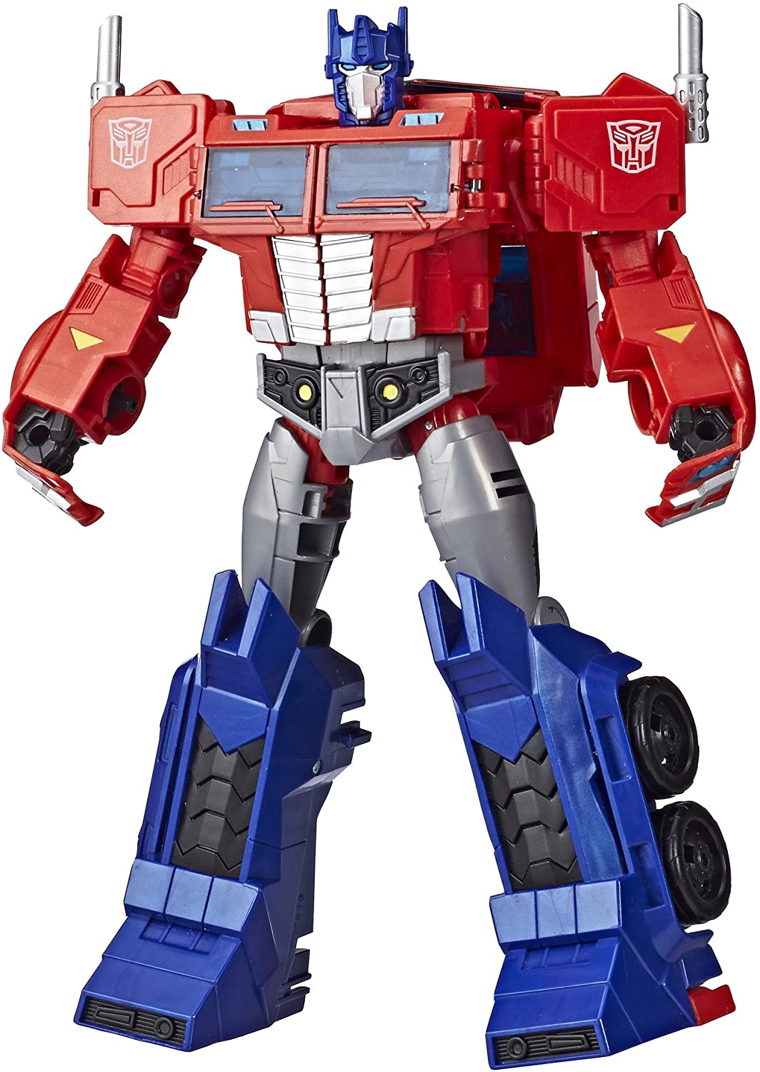Transformers Toys Optimus Prime Cyberverse Ultimate Class Action Figure - Repeatable Matrix Mega Shot Action Attack Move - Toys for Kids 6 & Up, 11.5""