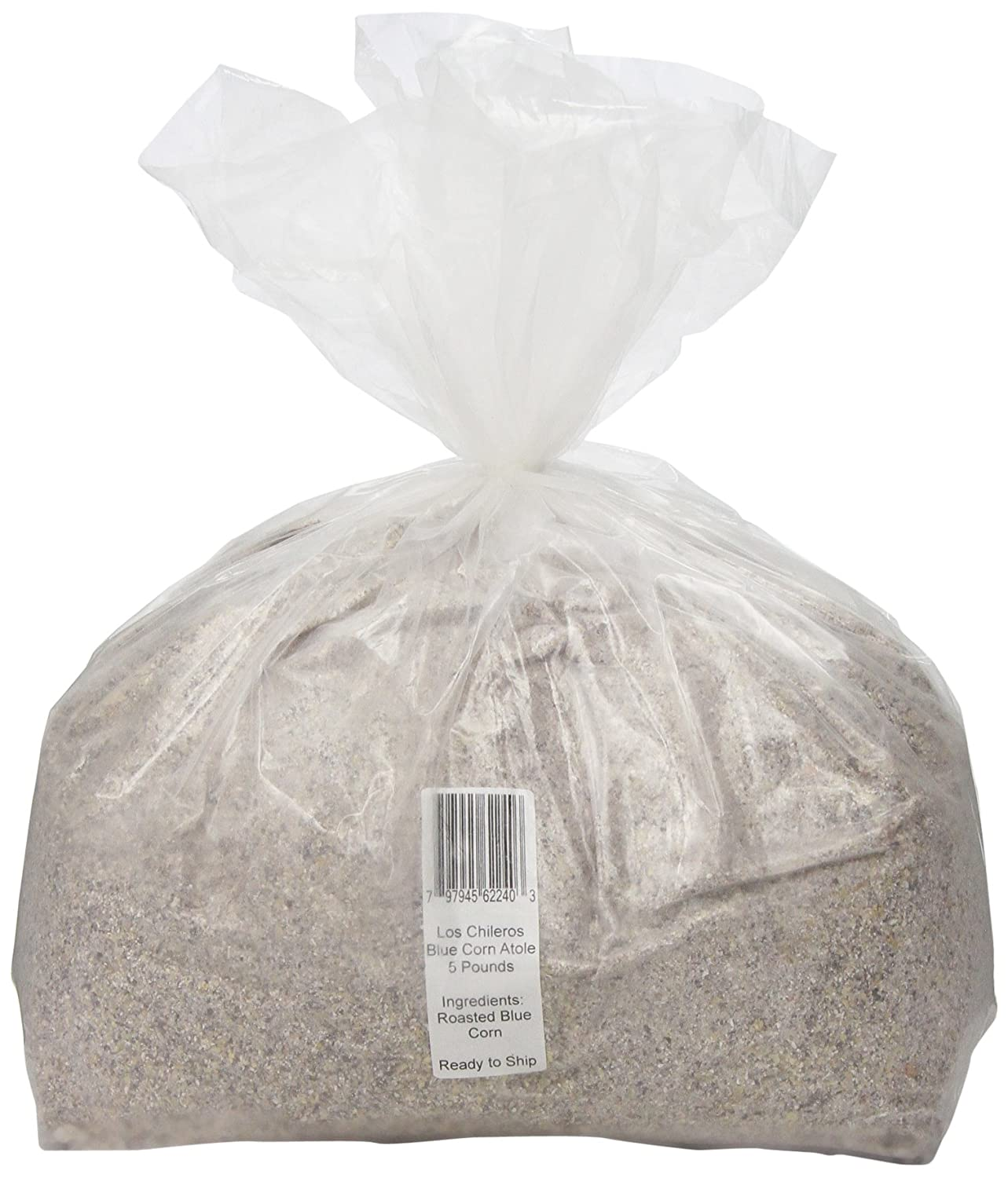 Amazon.com : Los Chileros Blue Corn Atole, 5 Pound : Corn Meals : Grocery & Gourmet Food