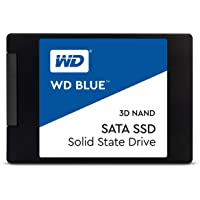 "WD Blue, 500GB, 3D NAND Dahili PC SSD, SATA III 6 Gb/s, 2.5""/7mm - WDS500G2B0A"