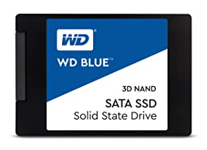 """WD Blue 3D NAND 500GB PC SSD - SATA III 6 Gb/s, 2.5""""/7mm - WDS500G2B0A"""
