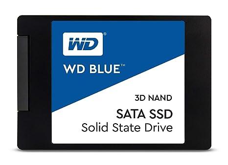 WD Blue 3D NAND 1TB PC SSD - SATA III 6 Gb/s, 2 5