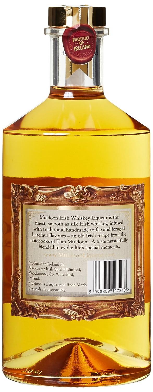 Muldoon Whiskey Liqueur Whisky (1 x 0.7 l): Amazon.de: Bier, Wein ...