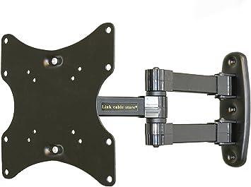 Link Cable Store-Soporte de Pared para televisor LED, LCD y Plasma, reclinable 15°, Orientable 180º: Amazon.es: Electrónica