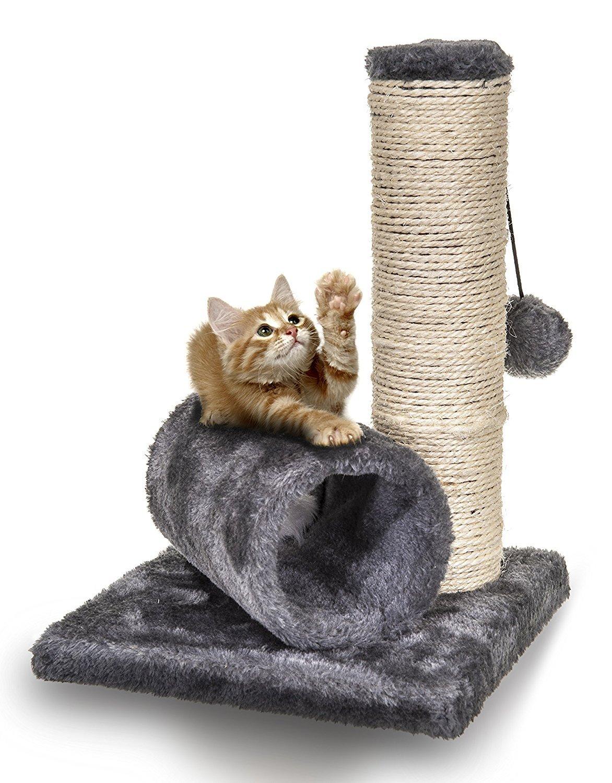 petit arbre chat avec griffoir en sisal chats cat tree. Black Bedroom Furniture Sets. Home Design Ideas