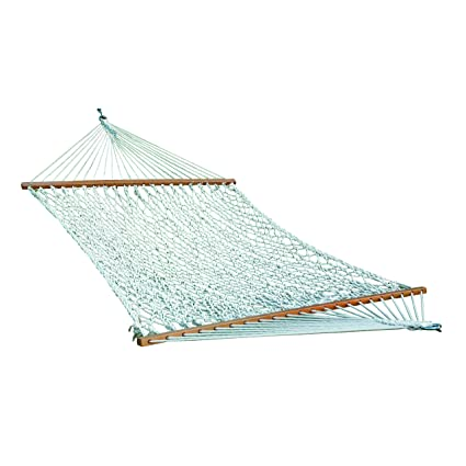 Home & More 123H00436132 Hammock (Polyester Rope - White) 3 x 11