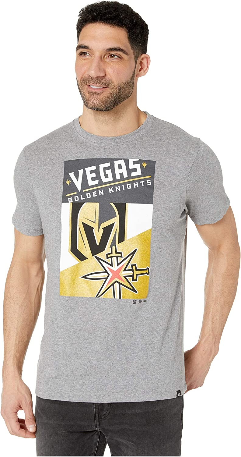 '47 NHL Vegas Golden Knights Patchwork Super Rival Tee