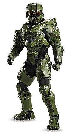 Disguise Menu0027s Halo Master Chief Ultra Prestige Costume Green Medium  sc 1 st  Amazon.com & Amazon.com: Disguise Menu0027s Halo Master Chief Ultra Prestige Costume ...