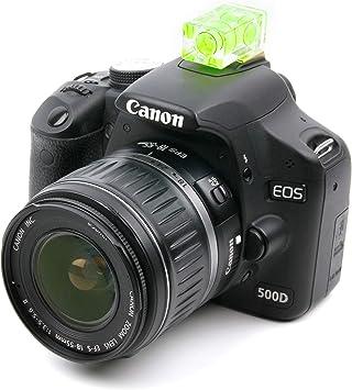 DURAGADGET Nivel Profesional Amarillo para cámara Canon EOS 750D ...