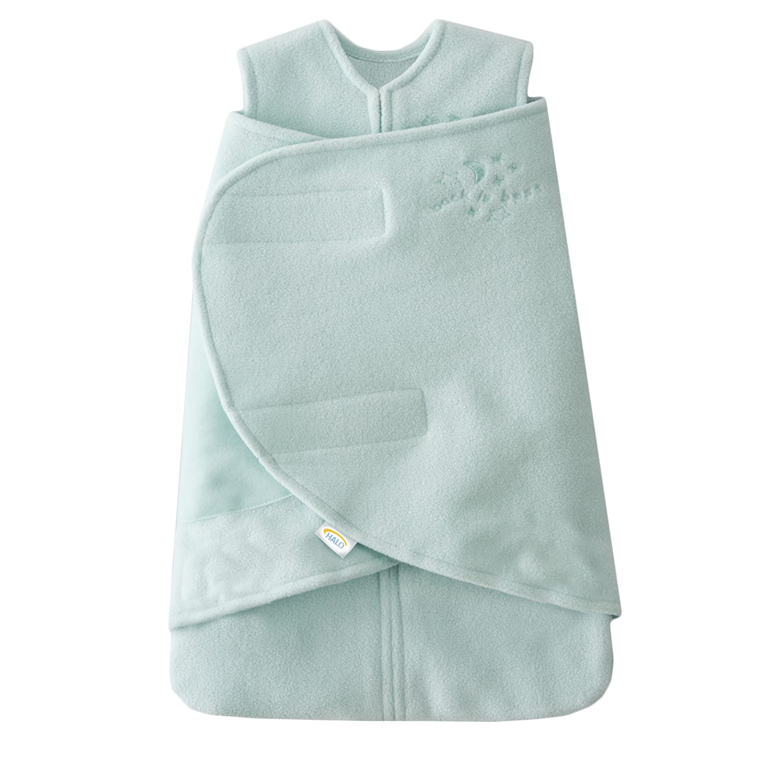 B000BTPTTW Halo Sleepsack Swaddle Micro Fleece - Mint - Preemie 811k1UaDHdL