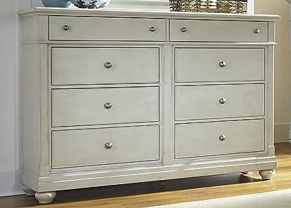 finest selection 920e3 e99c2 Liberty Furniture INDUSTRIES 731-BR32 Harbor View III 8 Drawer Bureau, 62