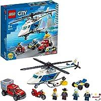 LEGO 60243 City Polishelikopterjakt, Flerfärgad