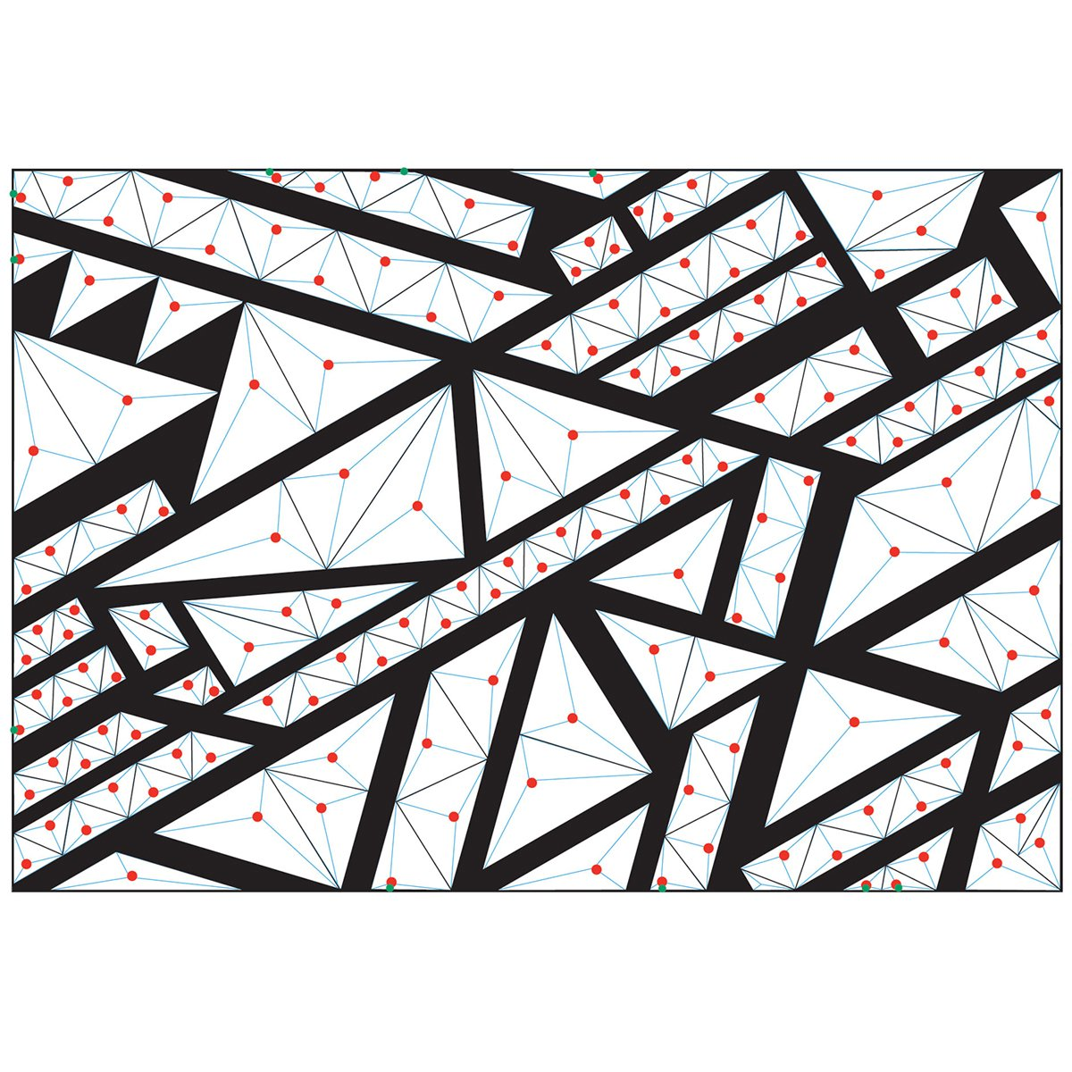 Sizzix 3-D Textured Impressions Embossing Folder Geometric by Lindsey Serata