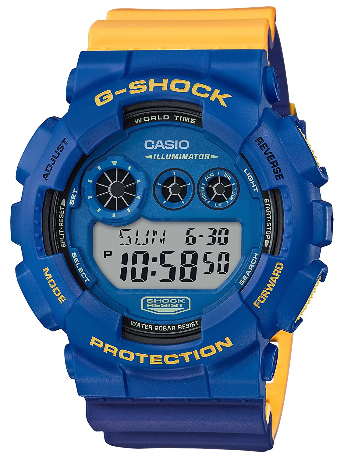 Amazon.com  CASIO G-SHOCK GD-120NC-2JF SPECIAL COLOR No-Comply MAROK  Wristwatch  Watches 77165ee644b