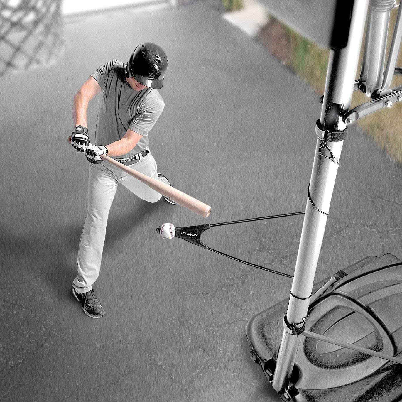 Improve Your Batting SKLZ Hit-A-Way Swing Trainer for Baseball and Softball