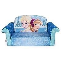 Marshmallow Furniture, Children's 2 in 1 Flip Open Foam Sofa, Disney Frozen, by...